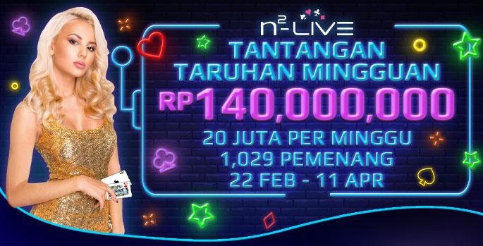 N2Live Tantangan Taruhan Mingguan