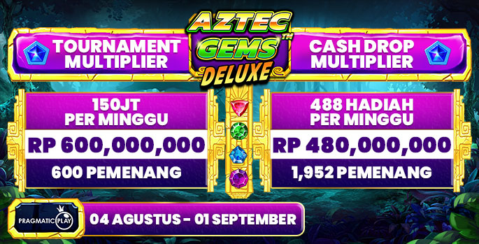 PP Aztec Gems Deluxe Tournament Multiplier