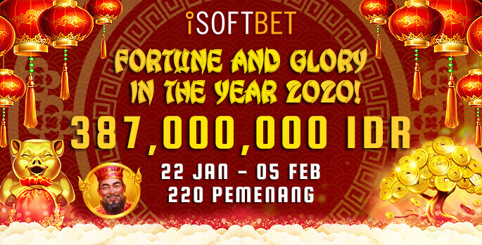 iSoftbet Fortune and Glory in the Year 2020!