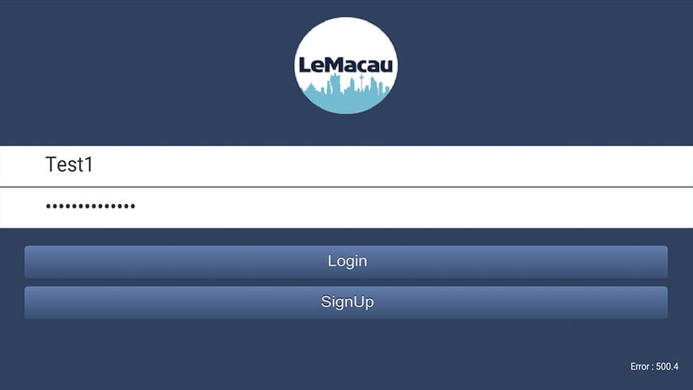 Screenshot LeMacau mobile 9