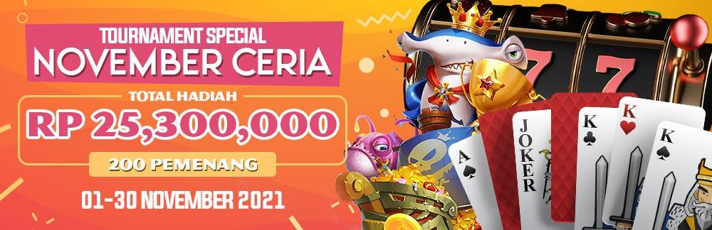 Tournament November Ceria